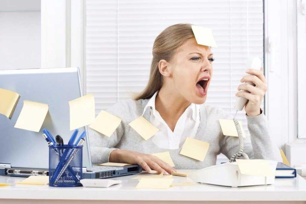 Задержка на фоне стресса