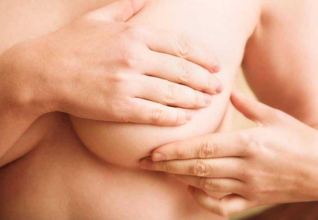 Массаж груди при мастопатии
