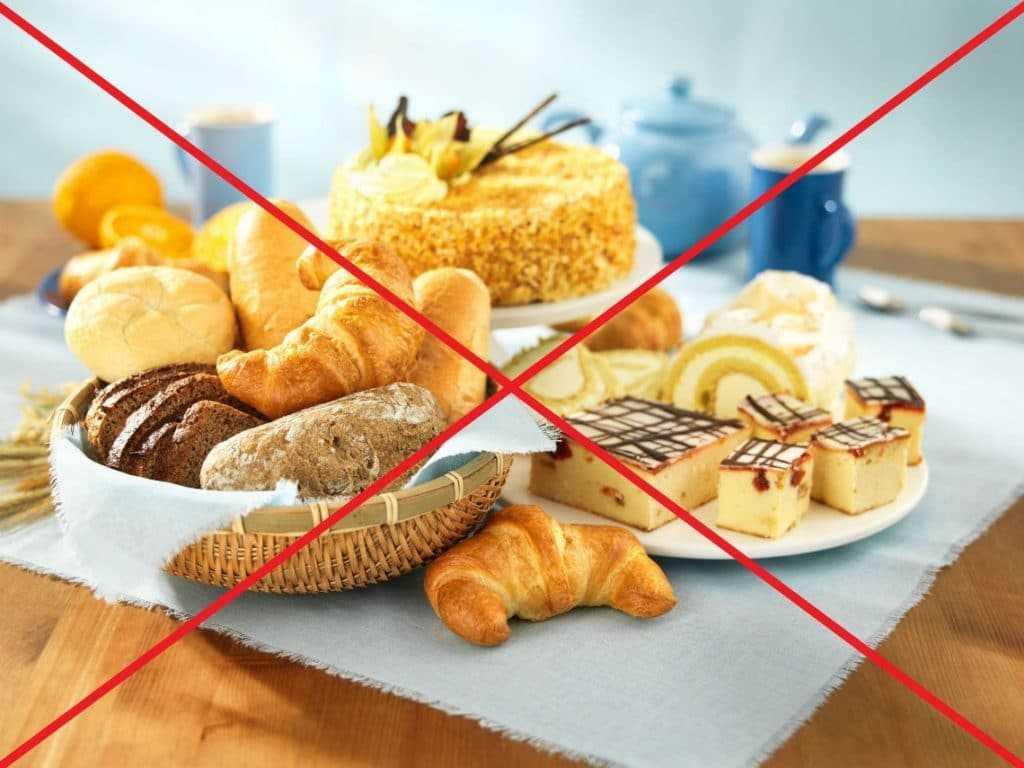 Запрещенные продукты при мастопатии