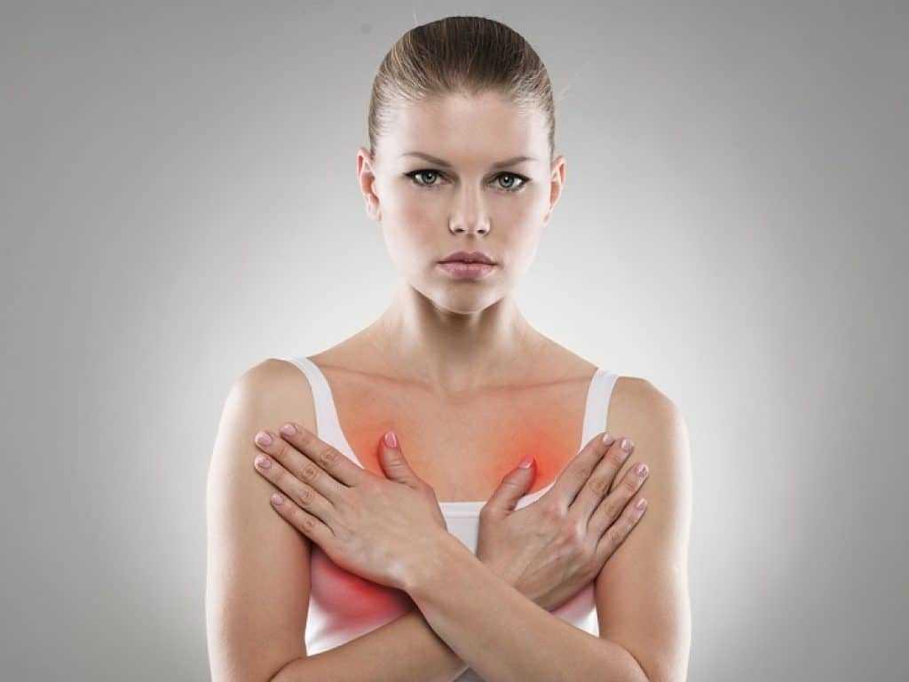 Боль при мастопатии
