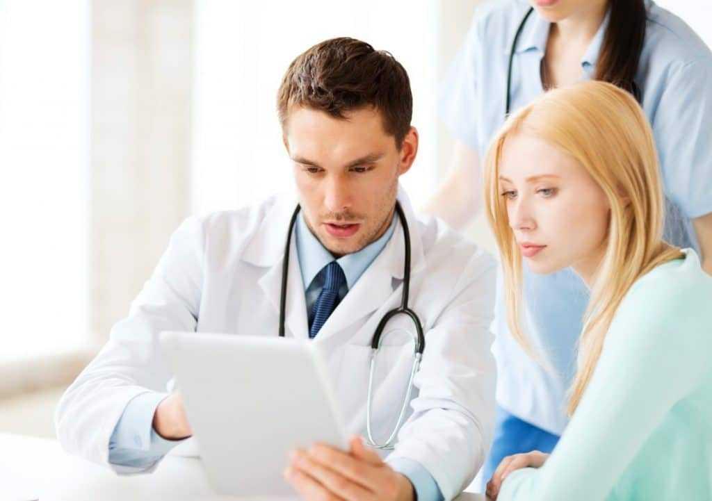 Обращение к врачу маммологу