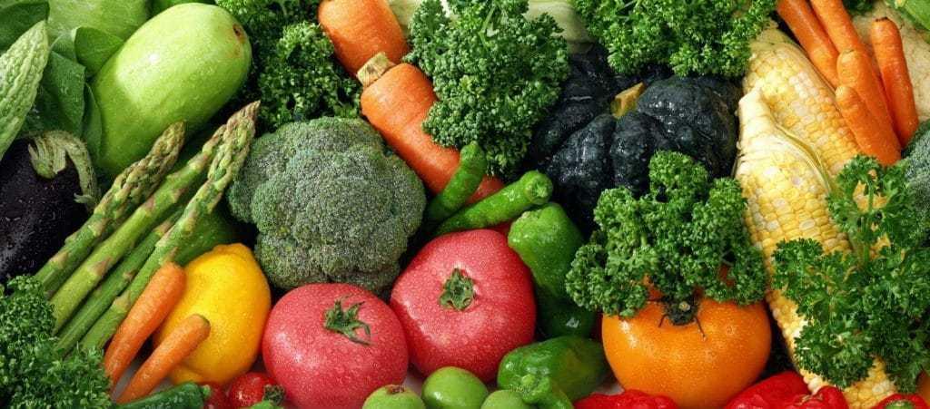 Овощи и зелень очень полезны при молочнице
