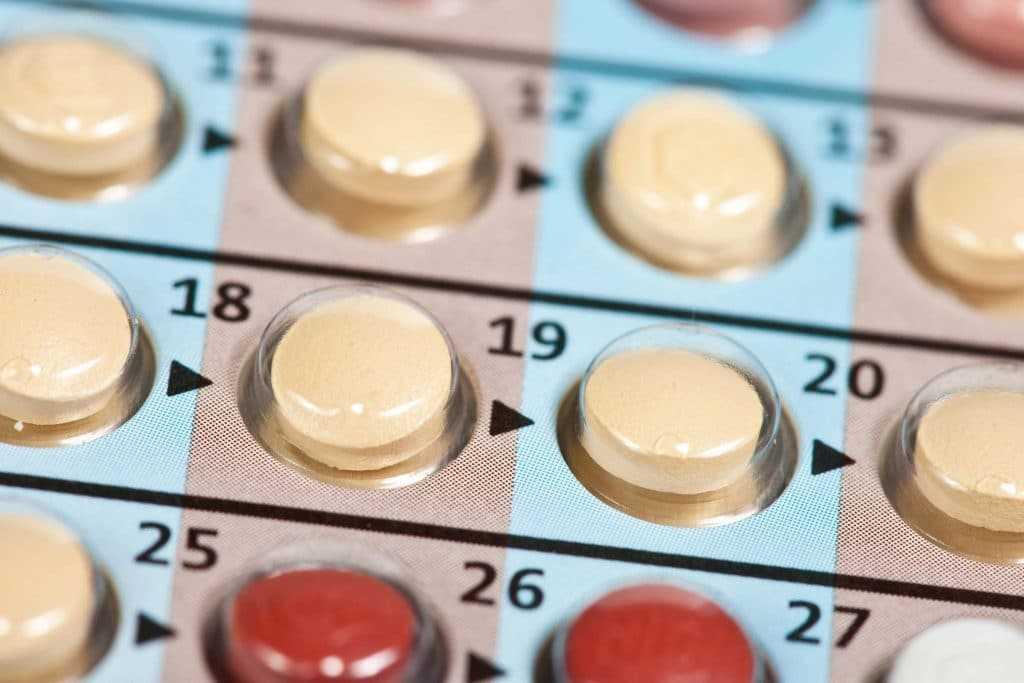 Употребления противозачаточных таблеток с гормонами - нарушение цикла