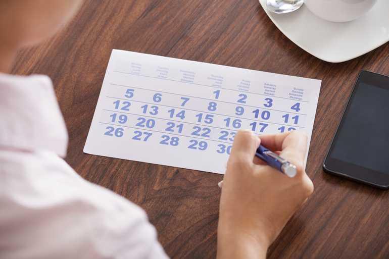 Календарный подсчет