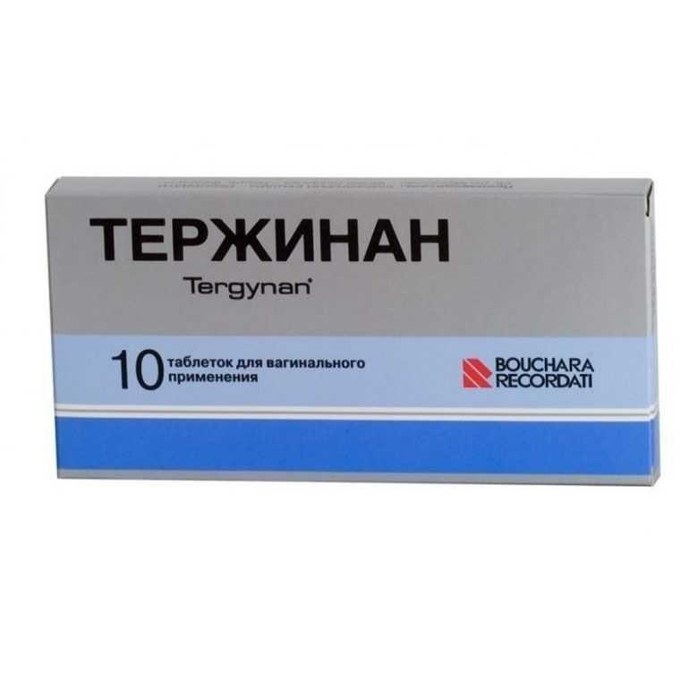 Описание препарата тержинан