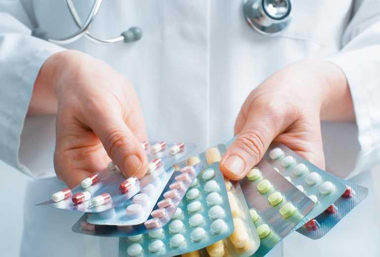 Основные препараты при нарушениях