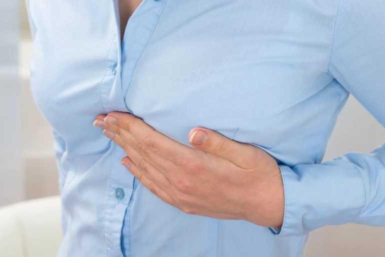 Почему болят груди перед месячными