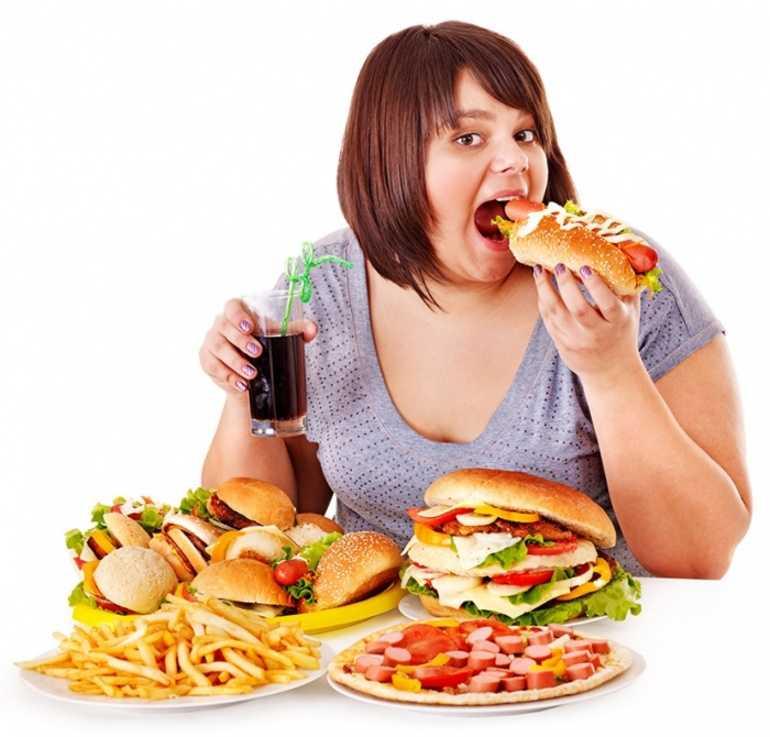 причина высокого уровня гормона - избыточный вес