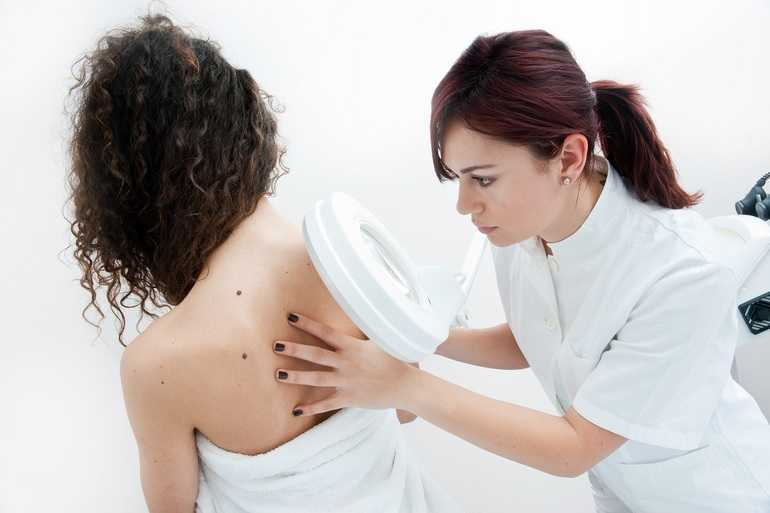 Приём дерматолога косметолога