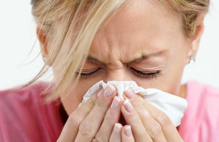 Проявления аллергической реакции