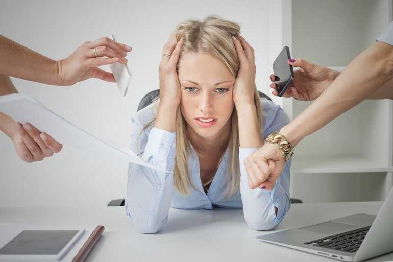 Стресс у женщины