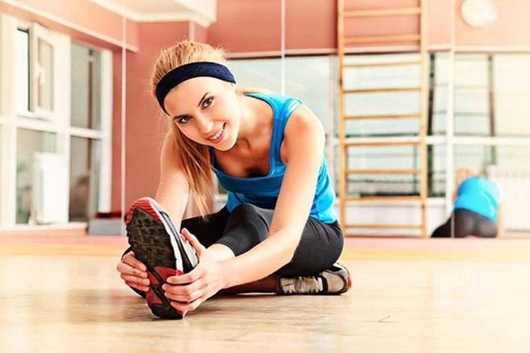 Тренировки и месячные