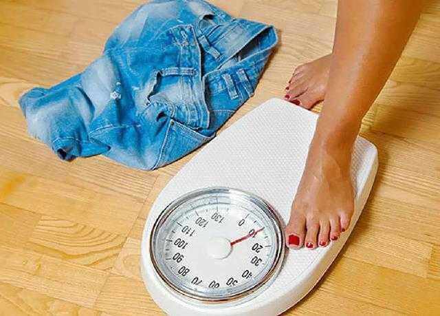 Вес во время месячных