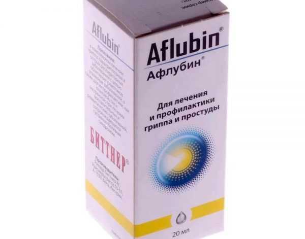 упаковка Афлубина