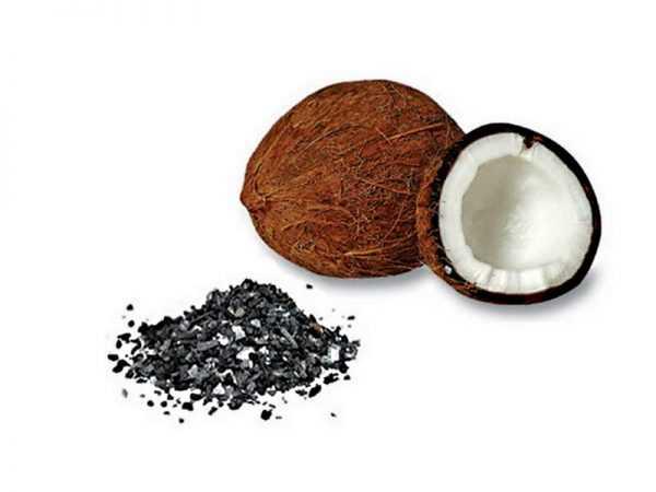 Активированный уголь из кокосовой скорлупы