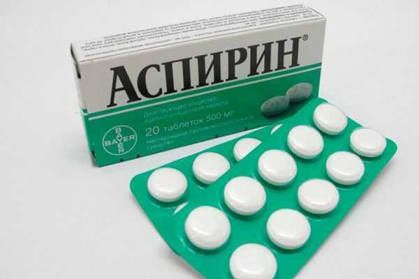 таблетки Аспирина в блистерах