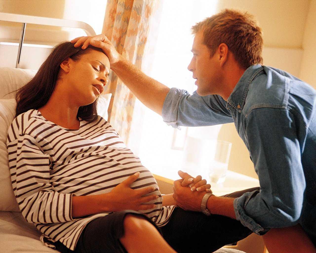 беременная перед родами