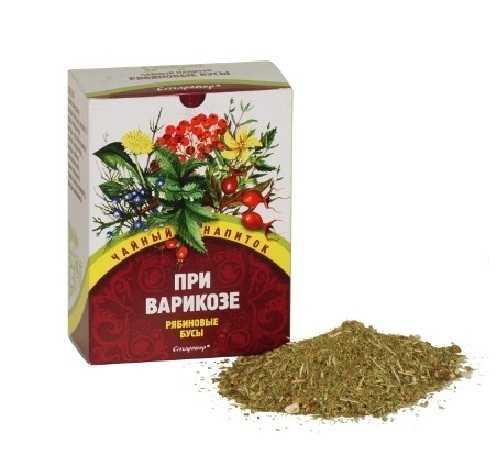 Чайный напиток из трав, который можно принимать при варикозе