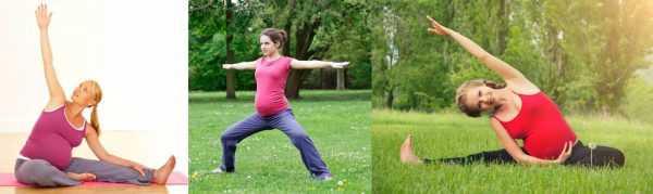 Фотогалерея: беременные женщины, занимающиеся ЛФК