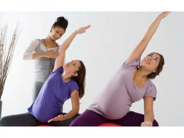 беременные делают упражнения