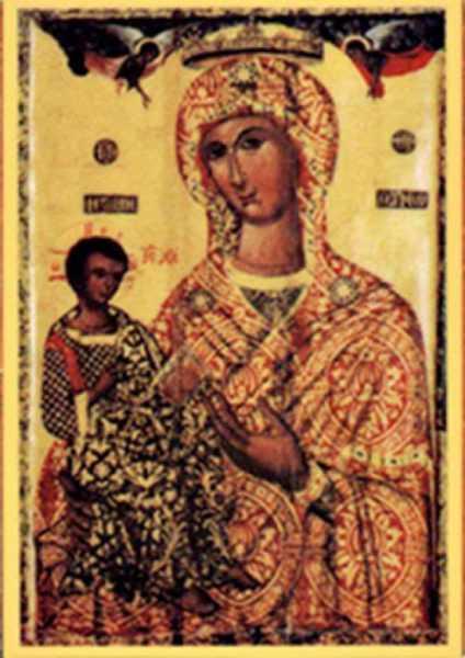 икона Божией Матери Троодитисса
