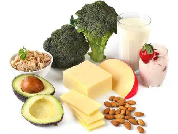 Полезные продукты, богатые кальцием