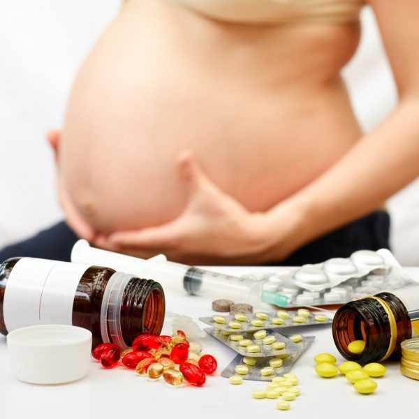 Беременная женщина и лекарства