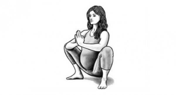 Упражнение для растяжки ахилловых сухожилий