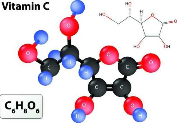 Молекула Аскорбиновой кислоты