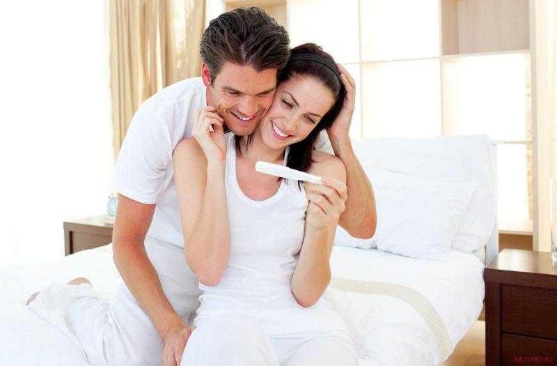 тест на беременность с одной полоской