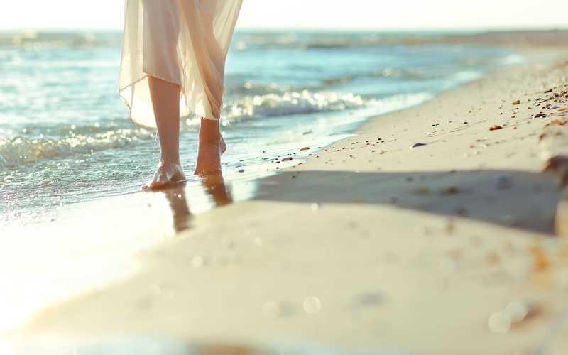 ноги волна