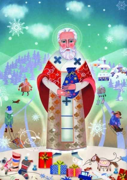 св. Николай и дети