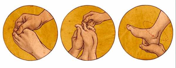 Проработка каждого пальца стопы и воздействие на центральную часть ступни