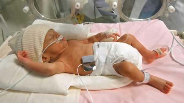 Ребёнок, рождённый на 29-й неделе беременности