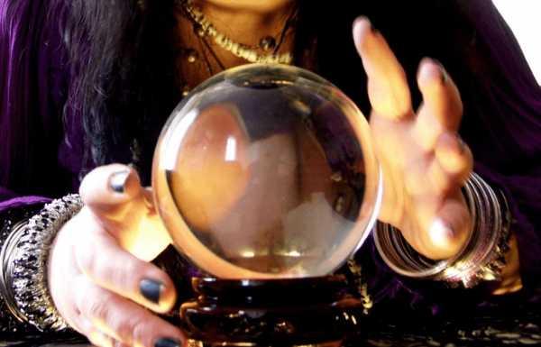 Стеклянный шар гадалки