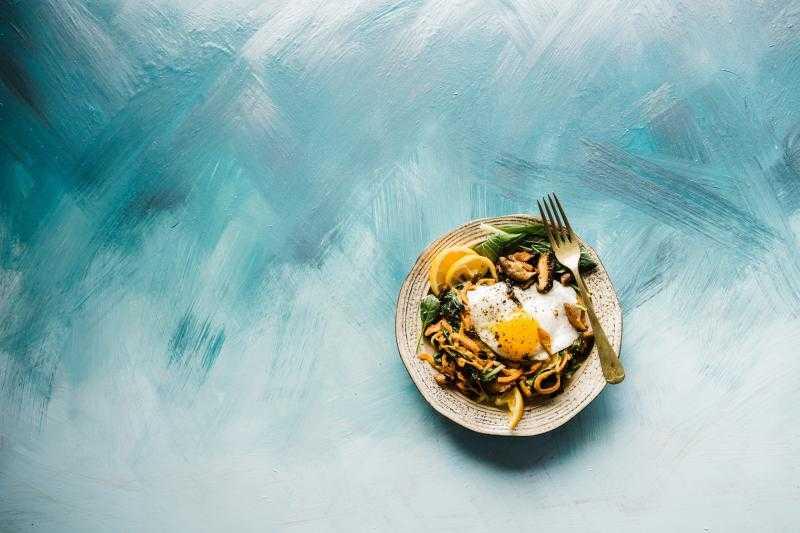 Тарелка с едой