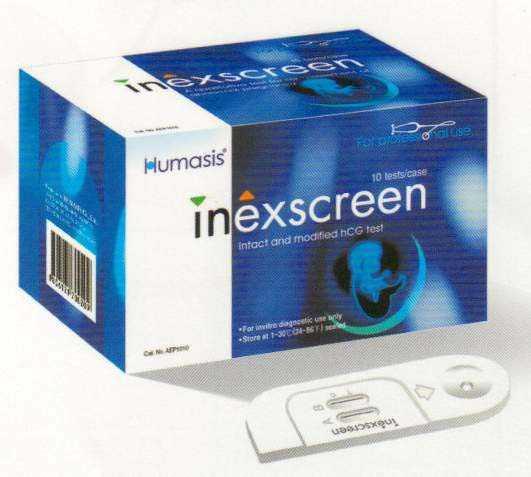 Тест на выявление патологической беременности Inexscreen