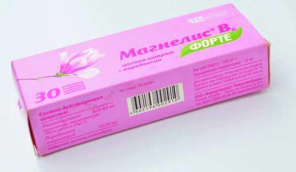 Упаковка Магнелис B6 форте