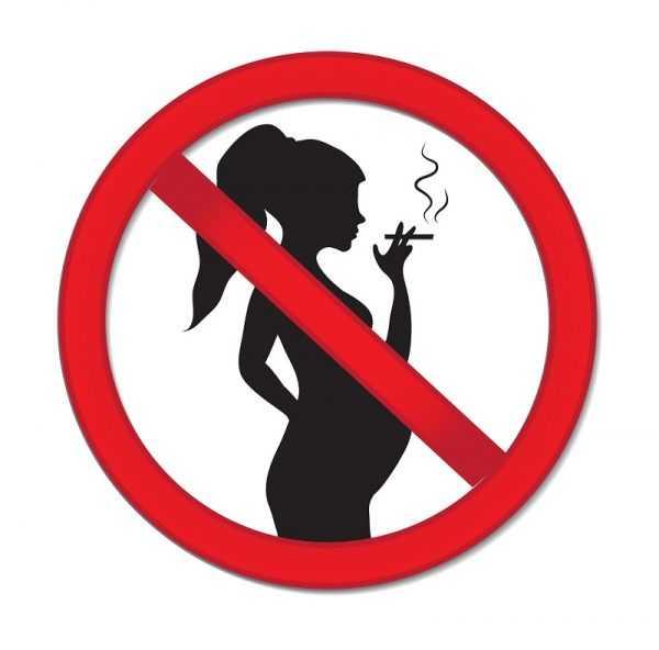 Запрет на курение во время беременности